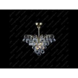 L17 555/04/4 - Glass LPS - lampa wisząca kryształowa
