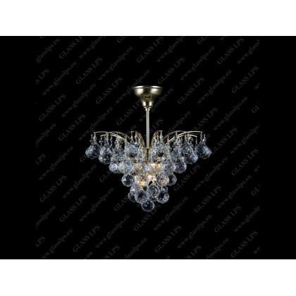 L17 555/04/4 - Glass LPS - lampa wisząca kryształowa - L17 555/04/4 - tanio - promocja - sklep
