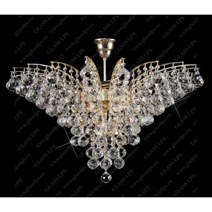 L17 555/11/4 - Glass LPS - lampa wisząca