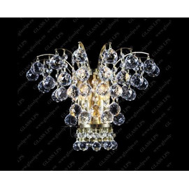N27 555/02/4 - Glass LPS - kinkiet klasyczny kryształowy