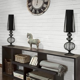 Aveiro L Black I 5126 - Nowodvorski - lampa biurkowa nowoczesna