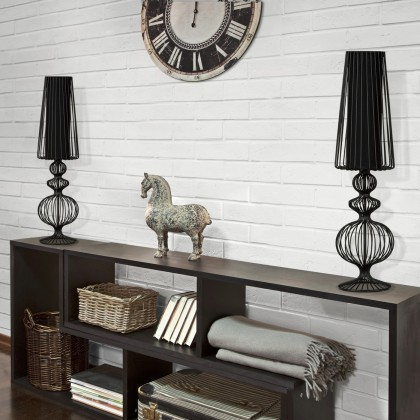 Aveiro L Black I 5126 - Nowodvorski - lampa biurkowa nowoczesna - 5126 - tanio - promocja - sklep
