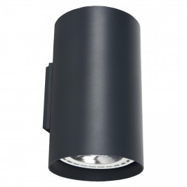 Tube Graphite 9318 - Nowodvorski - plafon nowoczesny