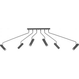 Eye Super Graphite 6 6498 - Nowodvorski - plafon nowoczesny