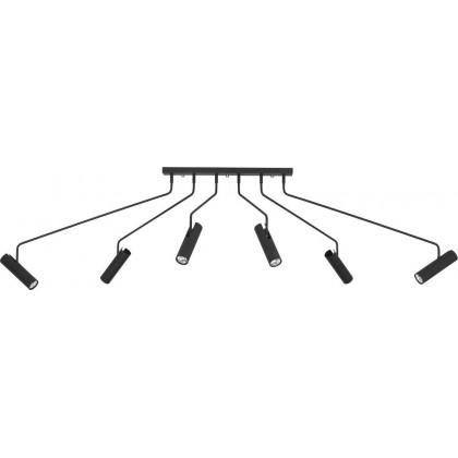 Eye Super Black 6 6505 - Nowodvorski - plafon nowoczesny - 6505 - tanio - promocja - sklep