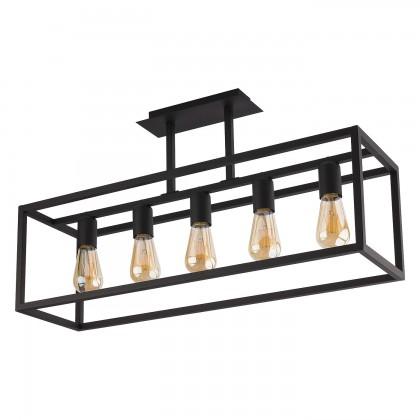 Crate Black V 9047 - Nowodvorski - plafon nowoczesny - 9047 - tanio - promocja - sklep