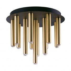 Stalactite Black-Brass Xiii 9054 - Nowodvorski - plafon nowoczesny