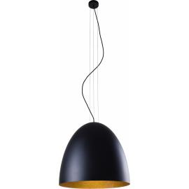 Egg L Black-Gold 9024 - Nowodvorski - lampa wisząca nowoczesna