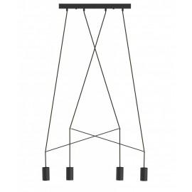 Imbria Black Iv 9192 - Nowodvorski - lampa wisząca nowoczesna