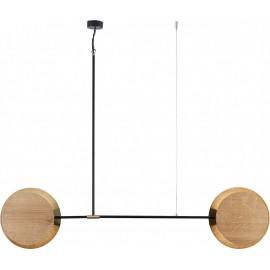 Minimal Smoked Oak Ii 9375 - Nowodvorski - lampa wisząca nowoczesna