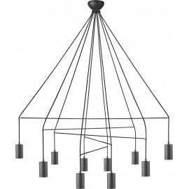 Imbria Black X 9680 - Nowodvorski - lampa wisząca nowoczesna