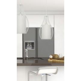 Camilla White 4611 - Nowodvorski - lampa wisząca nowoczesna