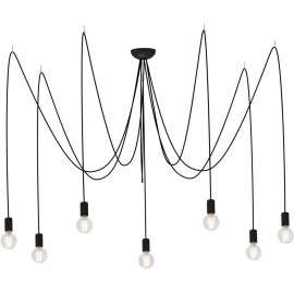 Spider Black Vii 6785 - Nowodvorski - lampa wisząca nowoczesna