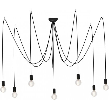 Spider Black Vii 6785 - Nowodvorski - lampa wisząca nowoczesna - 6785 - tanio - promocja - sklep