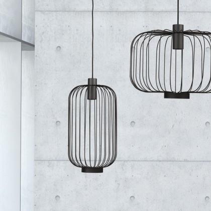 Cage Black 6844 - Nowodvorski - lampa wisząca nowoczesna - 6844 - tanio - promocja - sklep