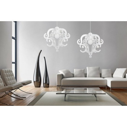 Katerina White 5208 - Nowodvorski - lampa wisząca nowoczesna - 5208 - tanio - promocja - sklep