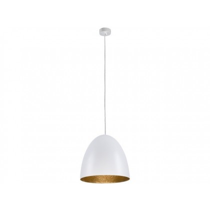 Egg M White-Gold 9021 - Nowodvorski - lampa wisząca nowoczesna - 9021 - tanio - promocja - sklep