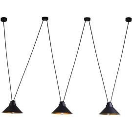 Perm Black-Gold Iii 9146 - Nowodvorski - lampa wisząca nowoczesna