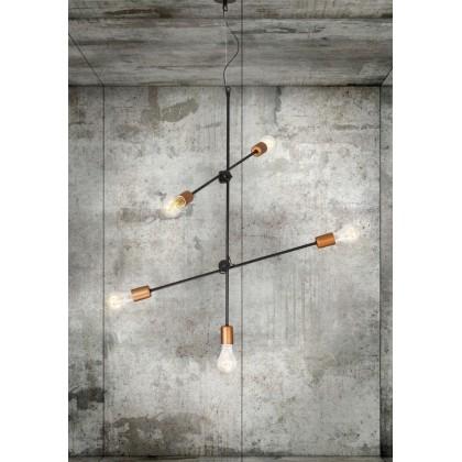 Sticks Black-Copper V 6270 - Nowodvorski - lampa wisząca nowoczesna - 6270 - tanio - promocja - sklep