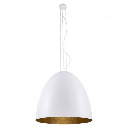 Egg L White-Gold 9023 - Nowodvorski - lampa wisząca nowoczesna - 9023 - tanio - promocja - sklep