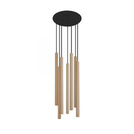 Laser Brass Vii 8921 - Nowodvorski - lampa wisząca nowoczesna