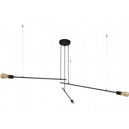 Pile Black Iii 9128 - Nowodvorski - lampa wisząca nowoczesna - 9128 - tanio - promocja - sklep