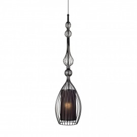 Abi L Black 8864 - Nowodvorski - lampa wisząca nowoczesna