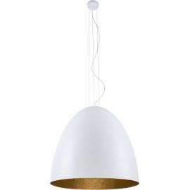 Egg Xl White-Gold 9025 - Nowodvorski - lampa wisząca nowoczesna