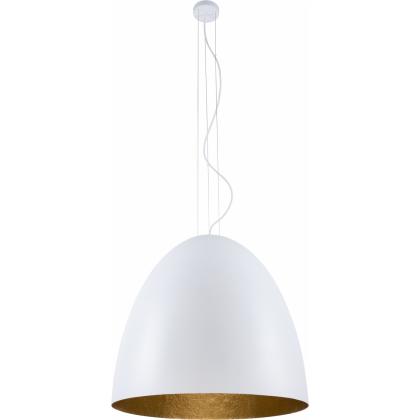 Egg Xl White-Gold 9025 - Nowodvorski - lampa wisząca nowoczesna - 9025 - tanio - promocja - sklep