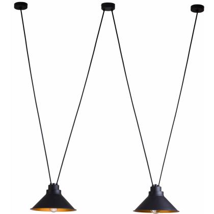 Perm Black-Gold Ii 9147 - Nowodvorski - lampa wisząca nowoczesna - 9147 - tanio - promocja - sklep
