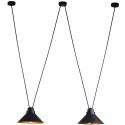 Perm Black-Gold Ii 9147 - Nowodvorski - lampa wisząca nowoczesna