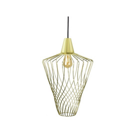 Wave L Gold 8857 - Nowodvorski - lampa wisząca nowoczesna