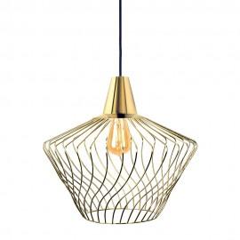 Wave S Gold 8861 - Nowodvorski - lampa wisząca nowoczesna