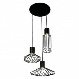 Pico Black-Gold Iii 8863 - Nowodvorski - lampa wisząca nowoczesna