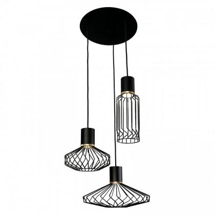 Pico Black-Gold Iii 8863 - Nowodvorski - lampa wisząca nowoczesna - 8863 - tanio - promocja - sklep