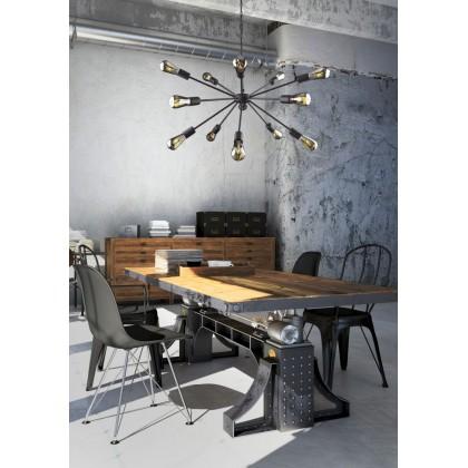 Rod Black Xv 9733 - Nowodvorski - lampa wisząca nowoczesna - 9733 - tanio - promocja - sklep