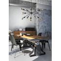Rod Black Xv 9733 - Nowodvorski - lampa wisząca nowoczesna
