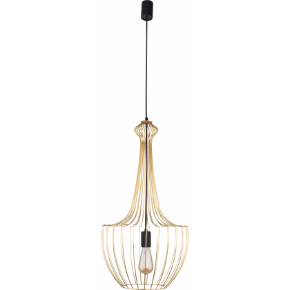 Luksor S Gold 8853 - Nowodvorski - lampa wisząca nowoczesna - 8853 - tanio - promocja - sklep