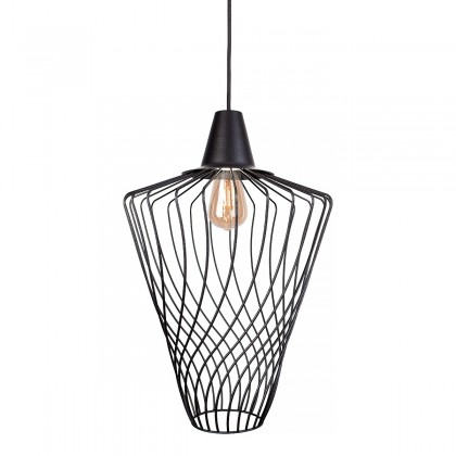 Wave L Black 8856 - Nowodvorski - lampa wisząca nowoczesna - 8856 - tanio - promocja - sklep