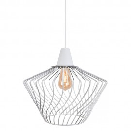 Wave S White 8860 - Nowodvorski - lampa wisząca nowoczesna