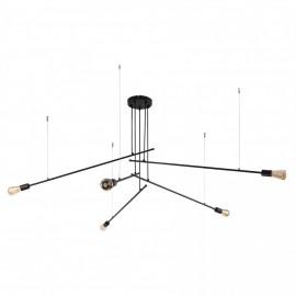 Pile Black V 9127 - Nowodvorski - lampa wisząca nowoczesna