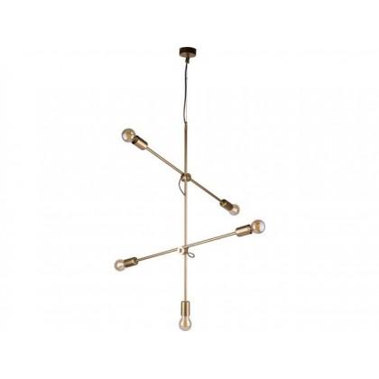 Sticks Gold V 9076 - Nowodvorski - lampa wisząca nowoczesna - 9076 - tanio - promocja - sklep