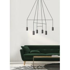 Imbria Black Vi 9677 - Nowodvorski - lampa wisząca nowoczesna