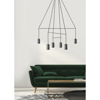 Imbria Black Vi 9677 - Nowodvorski - lampa wisząca nowoczesna - 9677 - tanio - promocja - sklep