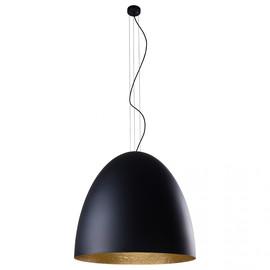 Egg Xl Black-Gold 9026 - Nowodvorski - lampa wisząca nowoczesna