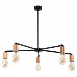 Sticks Black-Copper V B 9735 - Nowodvorski - lampa wisząca nowoczesna