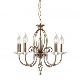 Aegean Aged Brass - Elstead Lighting - lampa wisząca klasyczna