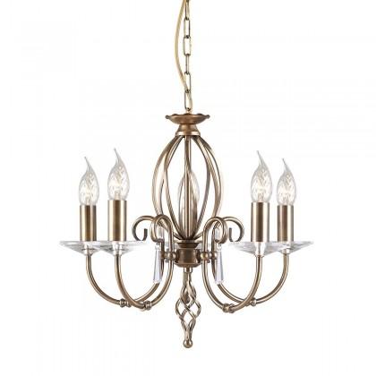 Aegean Aged Brass - Elstead Lighting - lampa wisząca klasyczna - AG5 AGED BRASS - tanio - promocja - sklep