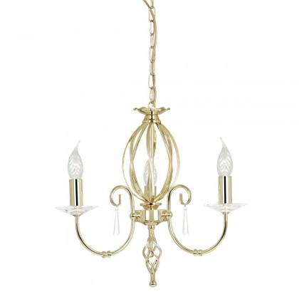 Aegean Polished Brass - Elstead Lighting - lampa wisząca klasyczna - AG3 POL BRASS - tanio - promocja - sklep