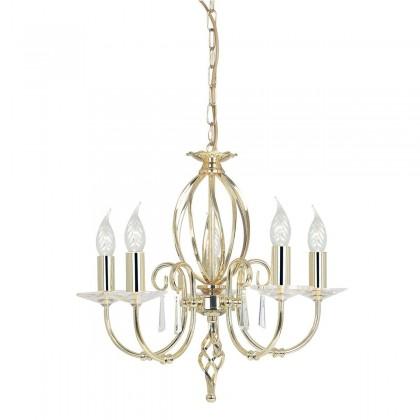 Aegean Polished Brass - Elstead Lighting - lampa wisząca klasyczna - AG5 POL BRASS - tanio - promocja - sklep